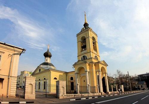 Храм Успения Пресвятой Богородицы в Казачьей слободе