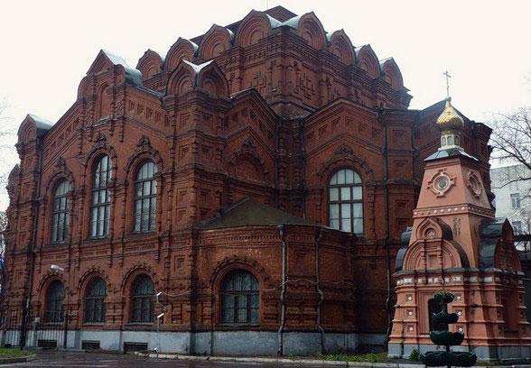 Собор во имя Всемилостивого Спаса Скорбященского монастыря