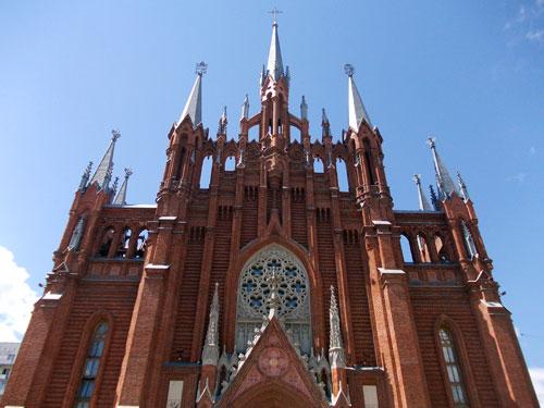 Католический храм на Малой Грузинской