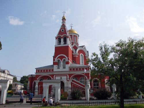 Храм Благовещения Пресвятой Богородицы в Петровском парке