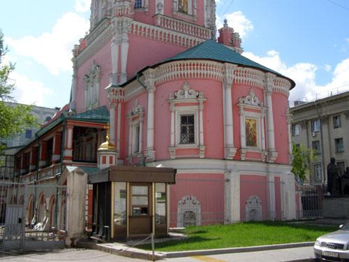 Храм в Богоявленском переулке