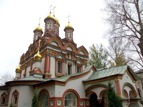 Храм Николая Чудотворца в Верхних Садовниках