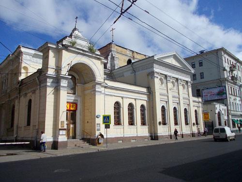 Храм Троицы Живоначальной что на Грязех