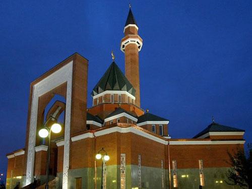 Мемориальная мечеть на Поклонной горе