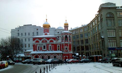 Церковь Всех Святых на Кулишках - Славянская площадь, 2