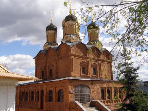 Собор иконы Божией Матери Знамение по улице Варварке