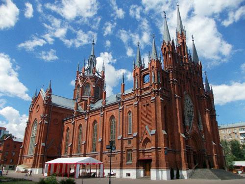 Собор Непорочного Зачатия Девы Марии в Москве
