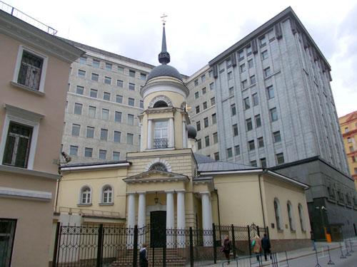 Церковь Софии на Лубянке у бывшего Пушечного двора