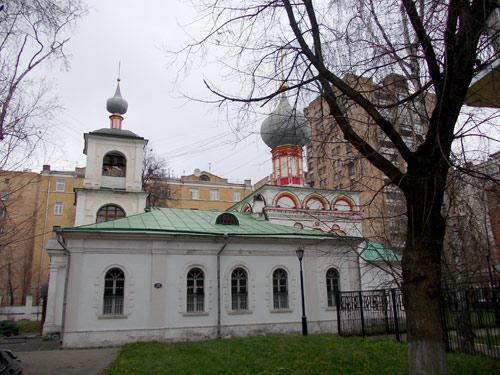 Церковь священномученика Власия в Конюшенной слободе