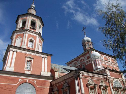 Церковь введения в Барашах