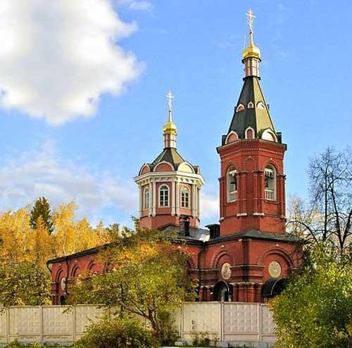 Храм Бориса и Глеба в Дегунино