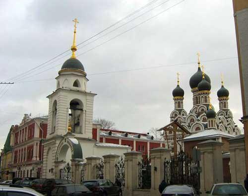 Храм Георгия Победоносца (Рождества Богородицы) в Ендово