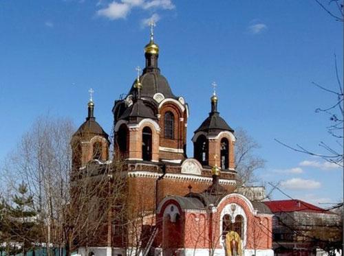 Храм иконы Божией Матери «Знамение» в Ховрине