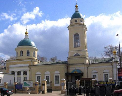 Храм иконы Божией Матери на Калитниковском кладбище