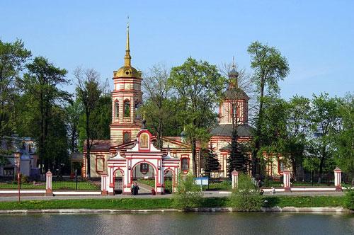 Алтуфьево - Храм Воздвижения Креста Господня