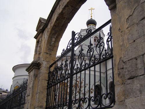 Крестовоздвиженский Храм на Чистом Вражке