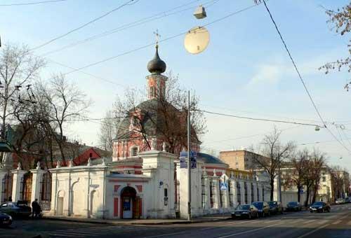 Храм Великомученицы Екатерины на Всполье в Москве