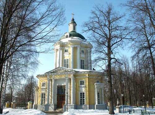 Храм Владимирской иконы Божией Матери в Виноградово