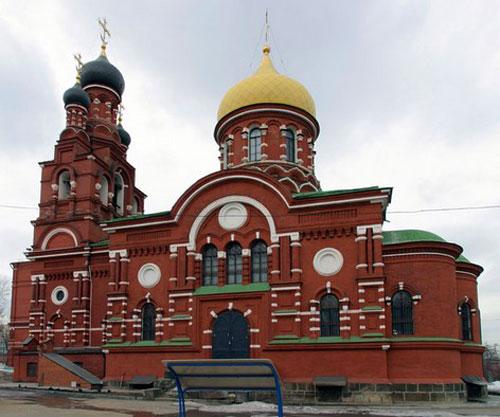 Храм Всех Святых Ново-Алексеевского монастыря