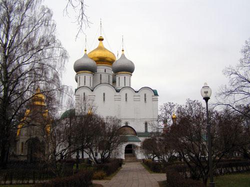 Новодевичий монастырь - Смоленский собор