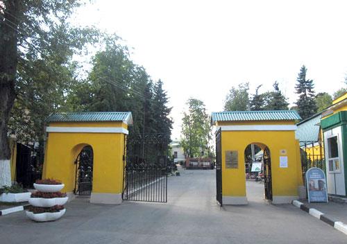 История Даниловского кладбища