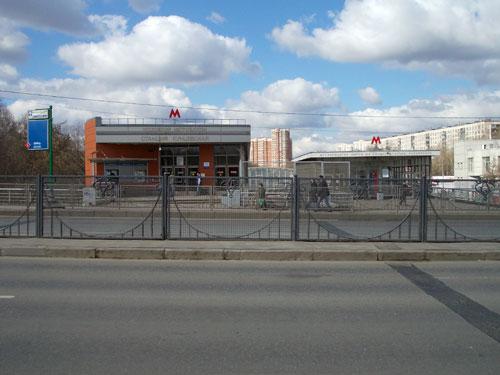 Кунцевская станция московского метрополитена