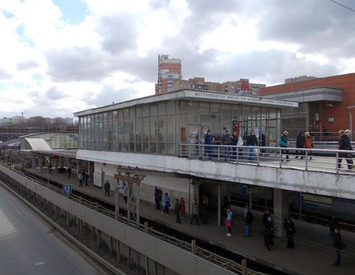 Станция метро Кунцевская Филевской линии