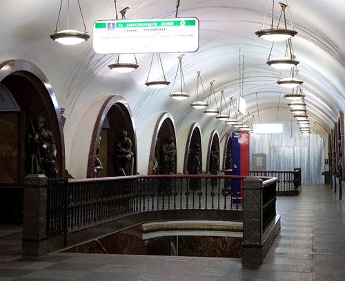 Площадь революции станция метро