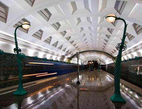 Станция метро Славянский бульвар