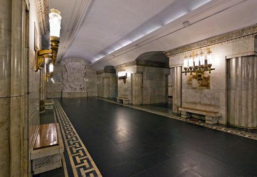 Смоленская станция метро Арбатско-Покровской линии
