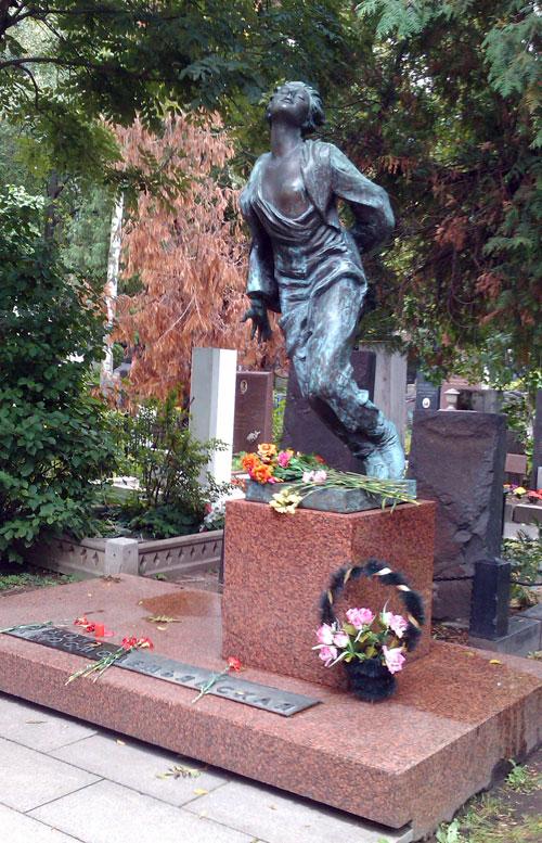 На новодевичьем кладбище москвы
