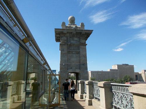 Андреевский мост в Москве