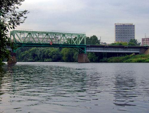 Белорусский (Филевский) мост в Москве