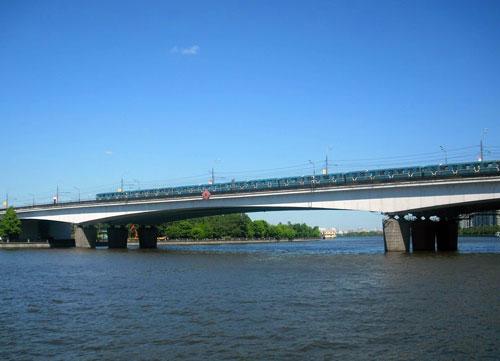 Нагатинский мост и метромост