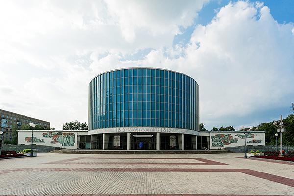 Главное здание Бородинской панорамы