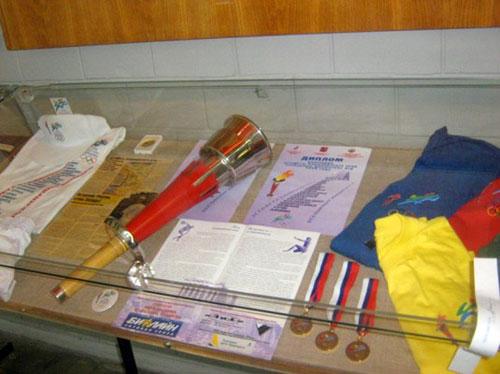 Коллекция музея спорта в Лужниках