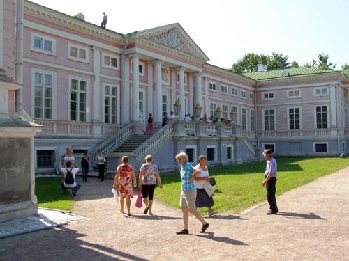 Усадьба в Кусково: дворец Шереметьевых