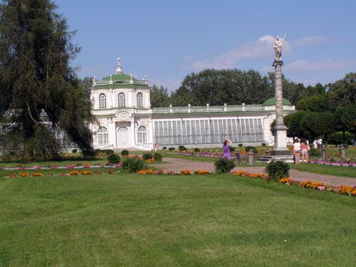 Музей в Кусково: оранжерея