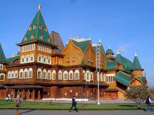 Коломенское. Дворец царя Алексея Михайловича. Фото 5.
