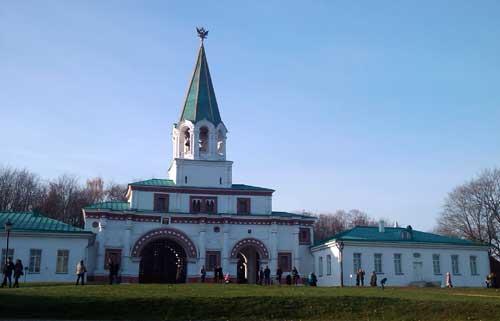 Коломенское. Передние ворота Государева двора. Фото 1.