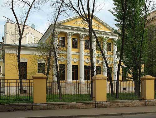 Мемориальный дом-музей Аксаковых в Москве
