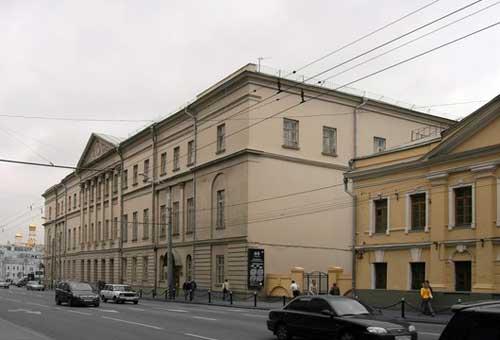 Музей архитектуры имени Щусева в Москве