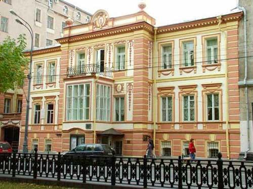 Дом-музей Ермоловой на Тверском бульваре