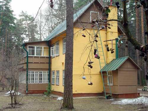 Дом-музей Корнея Чуковского в Переделкино в Москве