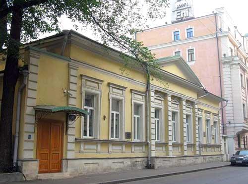 Государственный музей-мастерская скульптора Голубкиной в Москве