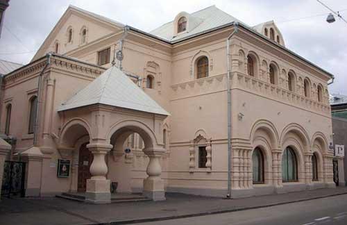 Музей народного искусства в Леонтьевском переулке в Москве