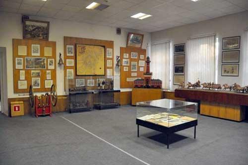 Музей пожарной охраны в Москве на улице Дурова