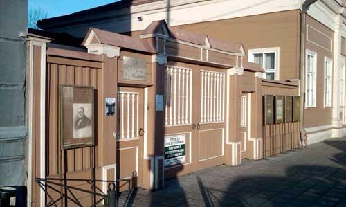 Щепкина, 47 - музей великого артиста и театрального деятеля М. Щепкина
