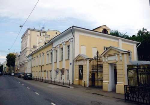Дом-музей Станиславского в Леонтьевском переулке