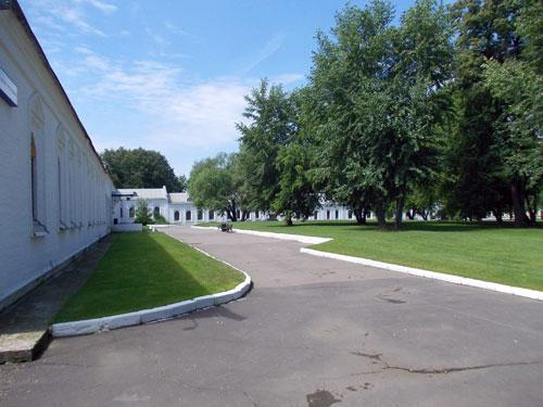 Музей-усадьба в Измайлово. Внутренний двор.